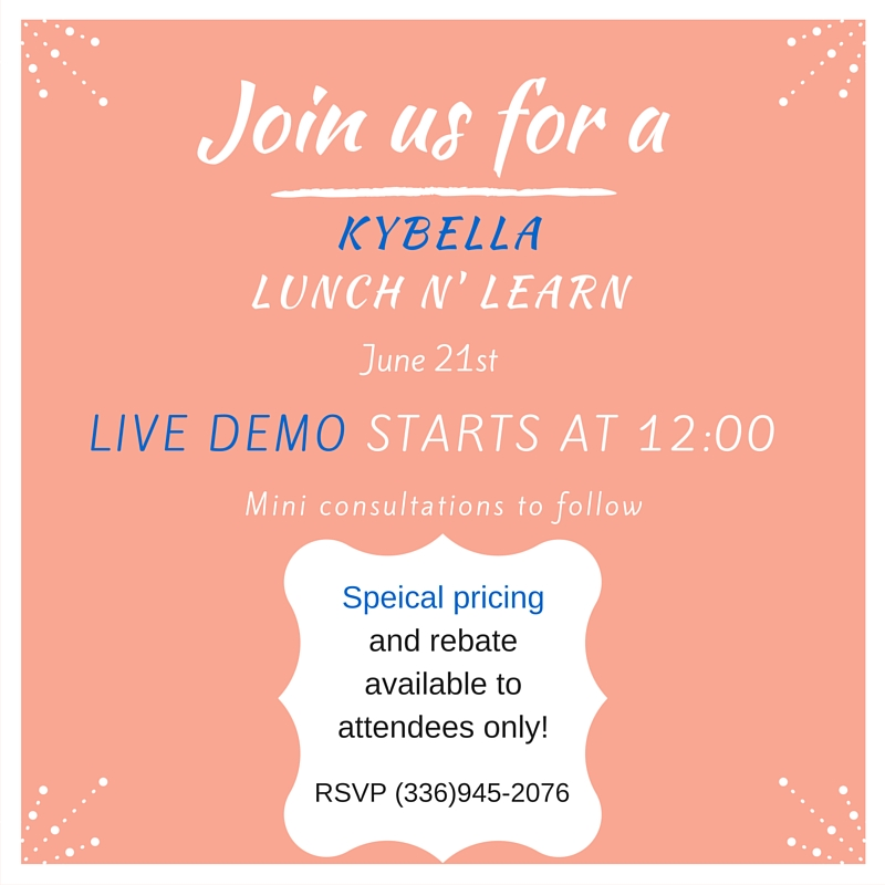 Kybella Lunch and Learn